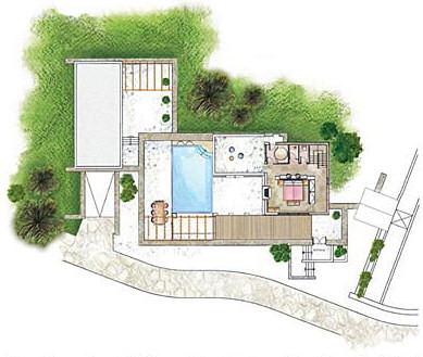 Grandvilla elounda kreta for Moderne luxusvilla grundriss